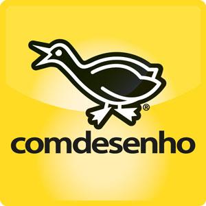 Comdesenho_Pato_Presente_Brinde